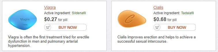 Viagra & Cialis price