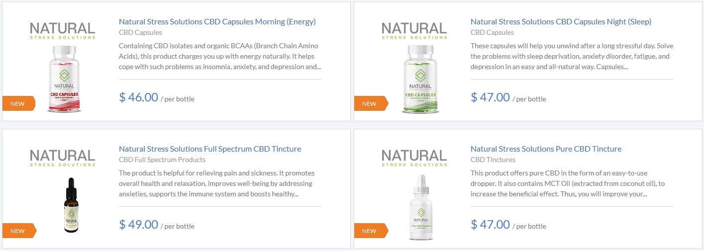 Natural Stress Solutions CBD