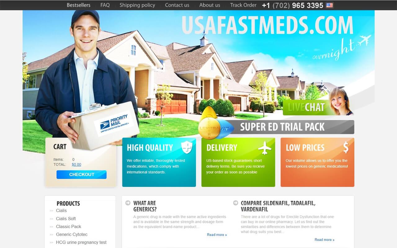 UsaFastMeds.com Review