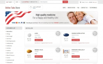 OnlineTabsStores.com Reviews • Medicines For The Whole Family From A Reliable Supplier