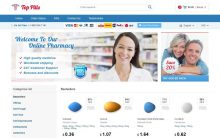 TopPillsDomain.com Reviews • Is a Good Pharmacy, But Inferior to Competitors