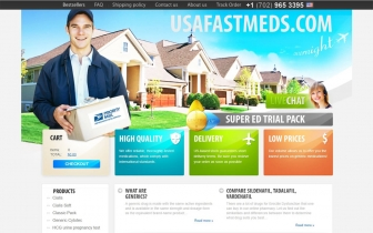 UsaFastMeds.com • 12 Year Experience In Selling Generic Medications